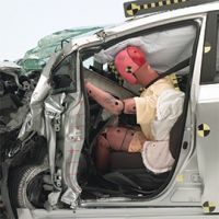 Winners and Losers in Demanding New Crash Test