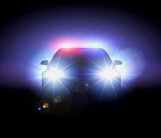 Flashing Headlights to Warn Drivers of Speed Traps