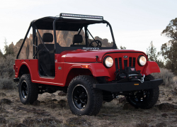 Mahindra ROXOR Too Much Like a Jeep Wrangler: ITC