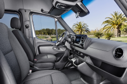 Mercedes Sprinters Recalled If Equipped With Swivel Seats