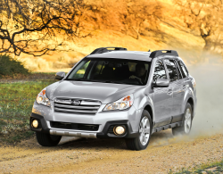 Subaru Recalls Legacy and Outback Vehicles For Parking Brakes