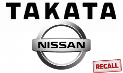 Nissan and Infiniti Vehicles Recalled Over Takata Airbags