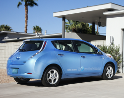 Nissan LEAF 'Passenger Airbag Off' Investigation Opened