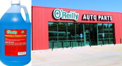 O'Reilly Auto Parts Windshield Wiper Fluid Freezes: Lawsuit
