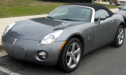 General Motors Recalls Pontiac Solstice and Saturn Sky