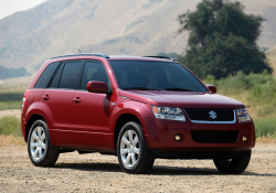 Suzuki Grand Vitara Recall Ordered to Replace Gear Shifters