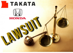 Honda and Takata Sued Over Exploding Air Bags