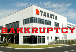 Takata Bankruptcy Filing is Official