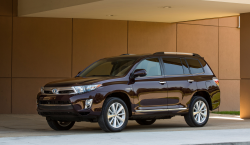 Toyota Highlander steering column callback may be required