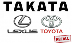Toyota Recalls 543,000 Vehicles to Replace Takata Airbag Inflators