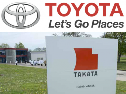 Toyota Recalls 5.8 Million Vehicles to Replace Takata Airbags