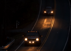 Study: Pickup Truck Headlights Leave Drivers in the Dark