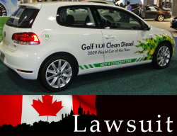 Volkswagen Sued in Canada For $1 Billion